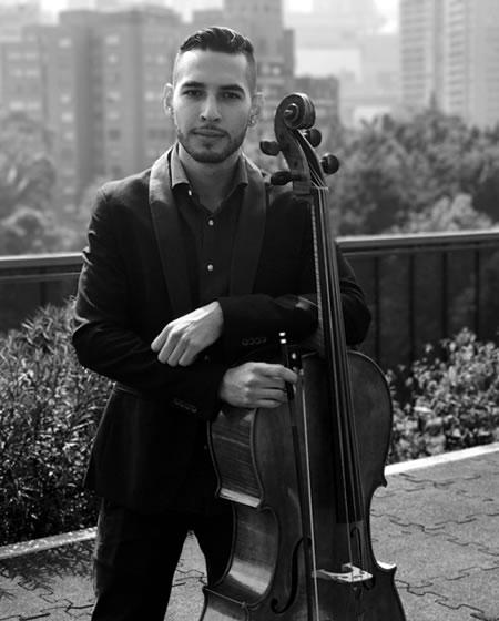 Carlos Rua Ospina profesor de Violoncello Solorock academia de música