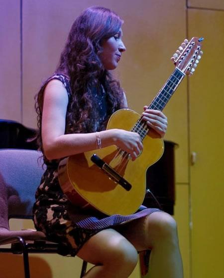 Catalina Madrid, profesora de iniciación musical en Solorock academia de música